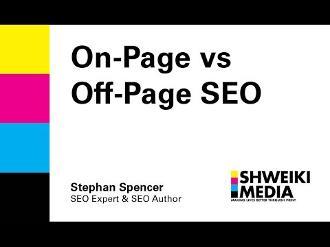 On Page Vs Off Page SEO - YouTube