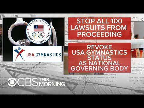 """USA Gymnastics bankruptcy filing a """"delay tactic,"""" victims"""