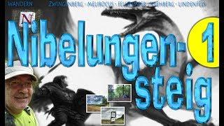 NIBELUNGENSTEIG  - TEIL 1 von 4 - Trekking