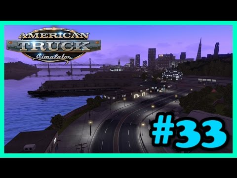 American Truck Simulator - Let's Play #33 - Rescale Map [1080p 60FPS]