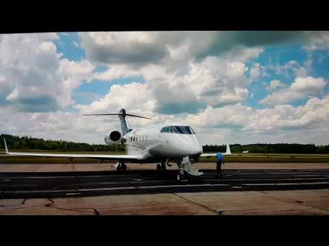 Private Jet To Caterpillar Factory In Georgia