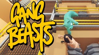 Gang Beasts - ЭТО МЯСОРУБКА (Брейн и Даша)