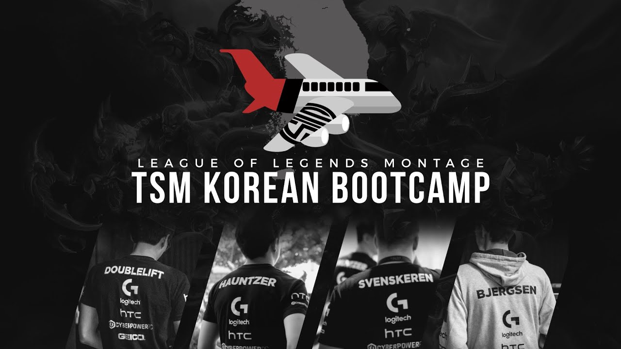 TSM Korean Bootcamp - League of Legends Montage