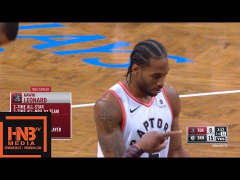 Toronto Raptors vs Brooklyn Nets 1st Qtr Highlights   12.07.2018, NBA Season