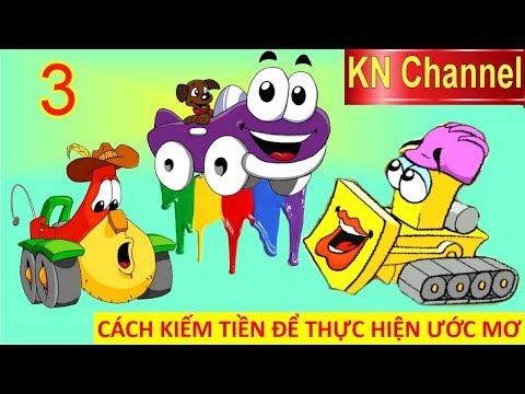 CÁCH KIẾM TIỀN ĐỂ THỰC HIỆN ƯỚC MƠ TRONG THẾ GIỚI XE ĐUA TẬP 3 | Trò chơi KN Channel giáo dục trẻ em