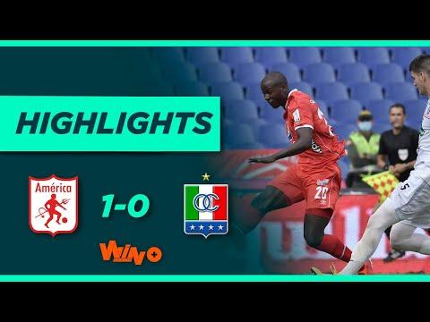 América vs Once Caldas (Gol y Highlights) Liga BetPlay Dimayor 2021-II   Fecha 4