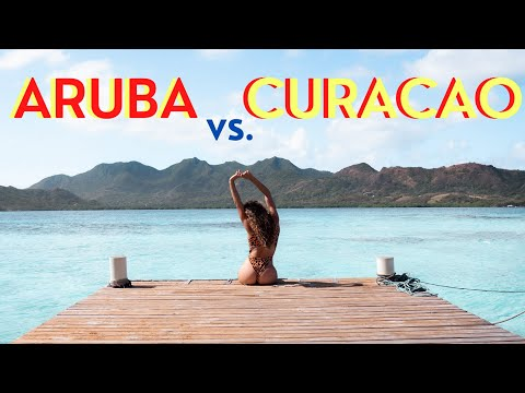 ARUBA vs CURACAO! Which one is BETTER? We lived abroad for 6 months each in both countries.