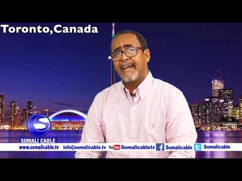 Todobaadka iyo Toronto waraysi Maxamed Xaaji Aadan
