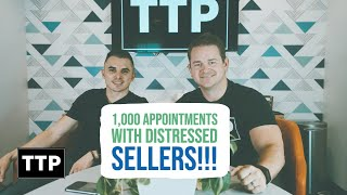 Wholesale Real Estate: 1,000 Appointments with Distressed Sellers!!!