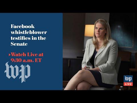 Facebook whistleblower testifies at Senate hearing on kids' safety online - 10/5 (FULL LIVE STREAM)