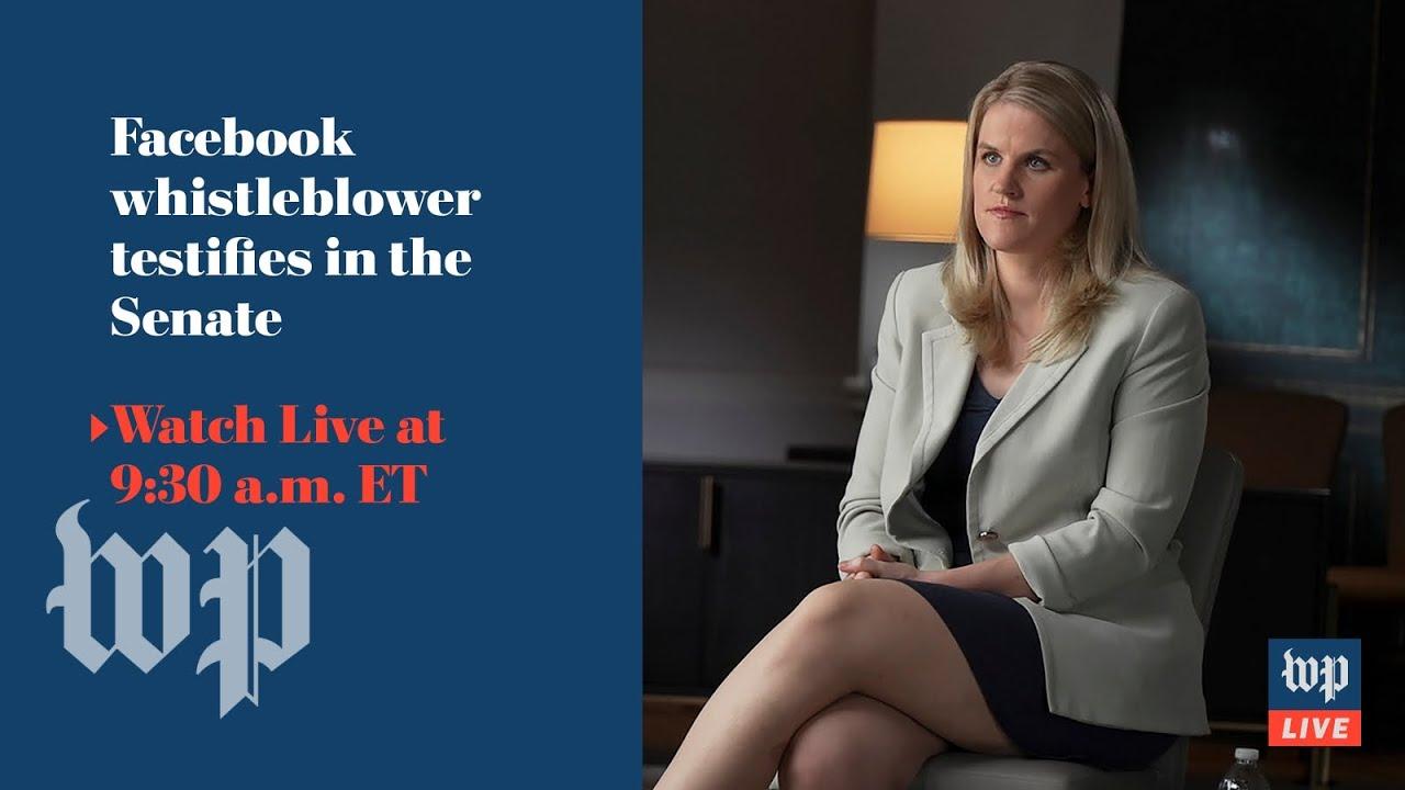 Whistleblower to Senate: Don't trust Facebook