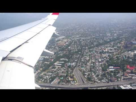 Hard landing in Almaty 4K- Air Arabia - Beautiful scenery!