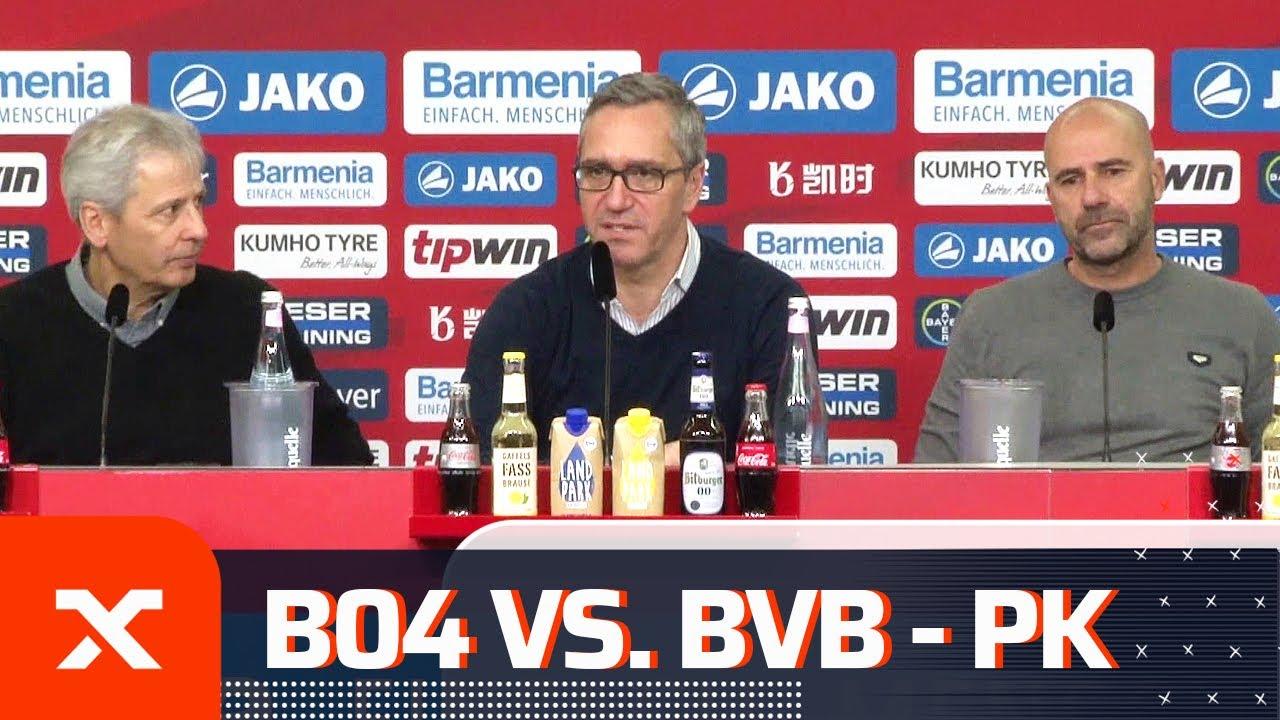 """Wir kriegen zu viele Tore"" - Lucien Favre konsterniert | Bayer Leverkusen - Borussia Dortmund 4:3"