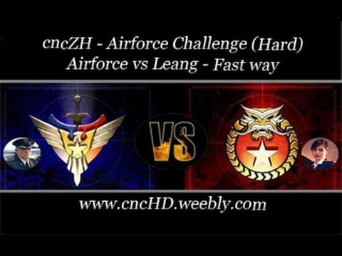 cncZH - Airforce vs Leang - fast way (Hard)