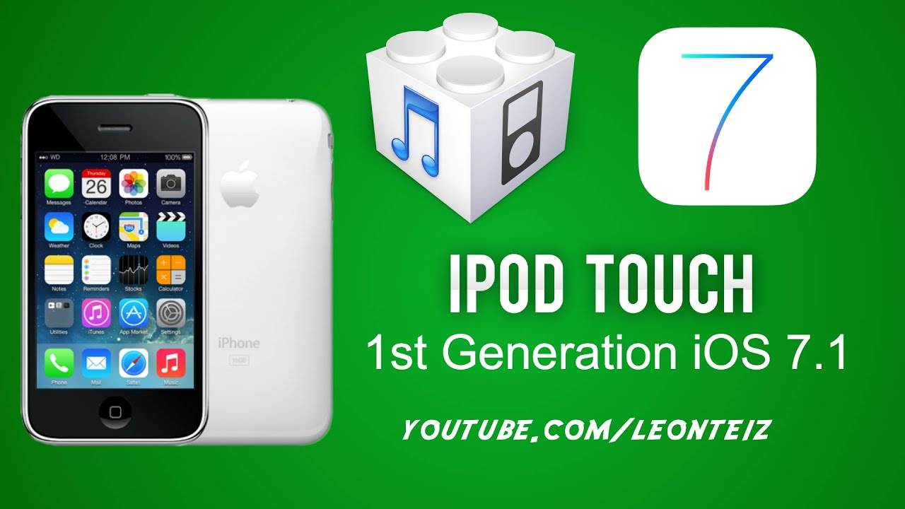 iOS 7 for iPhone 2G, 3G and iPod Touch 1G, 2G - Whited00r tutorial .
