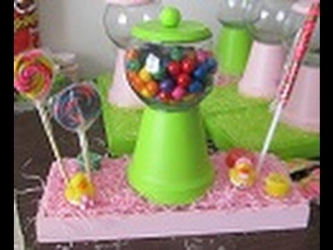 Arreglo de mesa dulcero maquina de dulces floritere for Arreglos de mesa con dulces