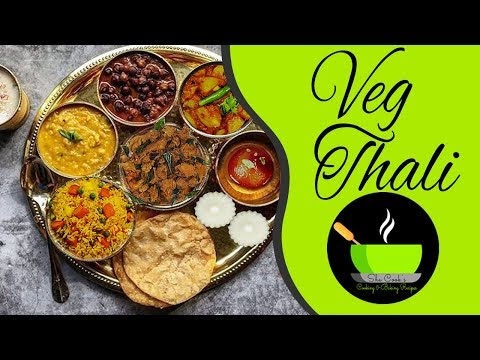 North Indian Vegetarian Thali