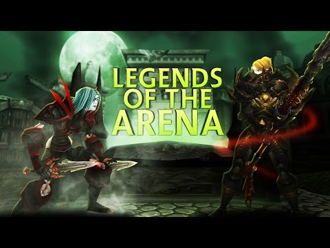 Swifty Legends of the Arena  Sensus vs Evylyn