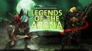 Swifty Legends of the Arena - Sensus vs Evylyn