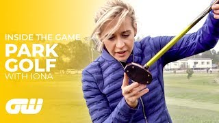 "Iona Takes on ""Park Golf"" in Japan! 