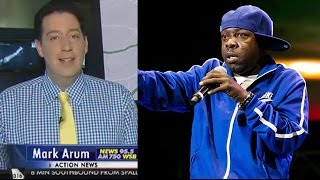 Traffic Reporter Pays Tribute to Phife Dawg on Air