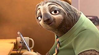 Зверополис -ленивец