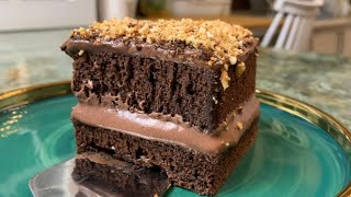 Объеденье а не торт Лучший Шоколадно кофейный торт Chocolate cake Շոկոլադեսրճային տորթ