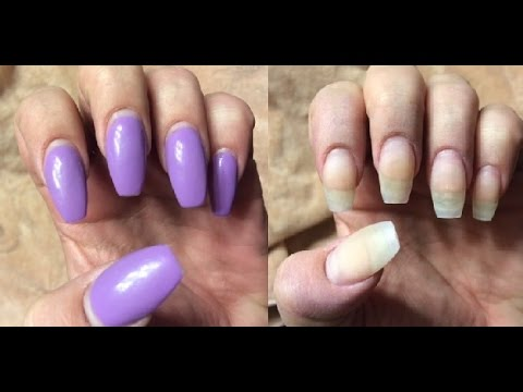 How to care for acrylic nails between fills
