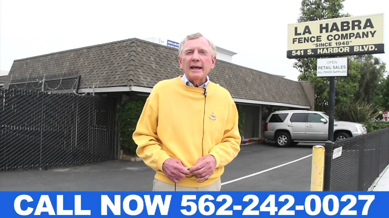 Chain Link Fence Company La Habra The Owner