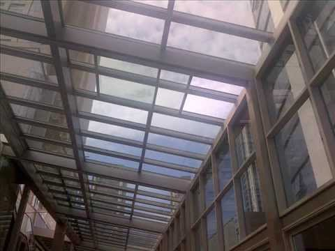 ERBİR YAPI, Retractable Glass Skylight Systems   Sliding Skylight Glass Roof