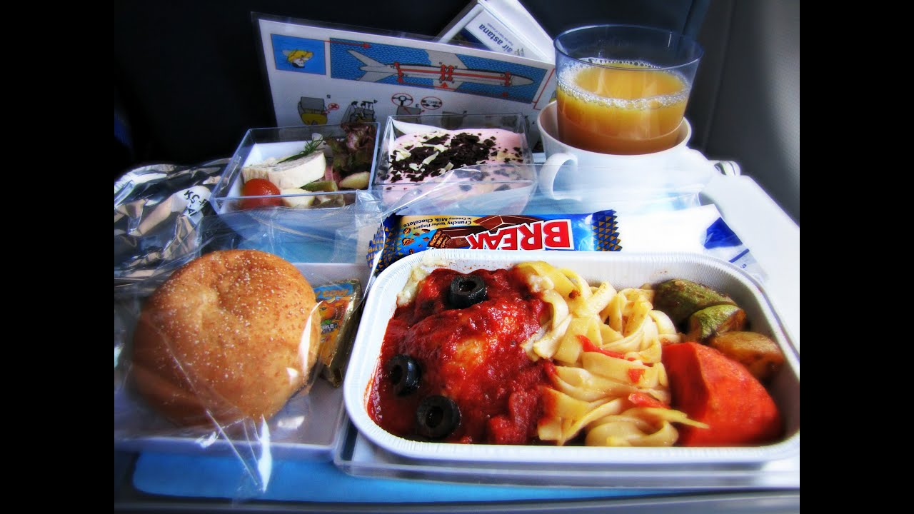 Air Canada Flight Food