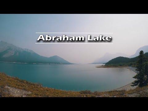 Abraham Lake Random Camping 4K   Journey Alberta