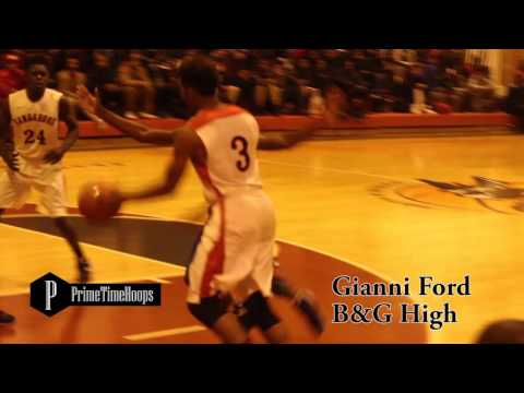 Gianni Ford underrated Combo guard out of Boys and Girls High school