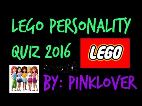 LEGO PERSONALITY QUIZ! 2016