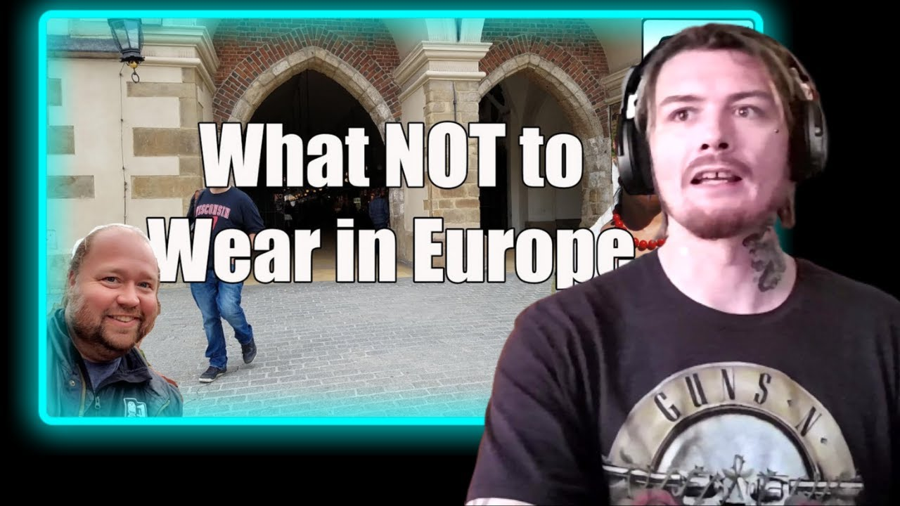 Download American Reacts To 5 Things American Tourists Shouldn't Wear in Europe