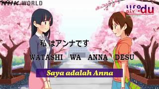 belajar bahasa  jepang   ep 01, watashi wa Anna desu