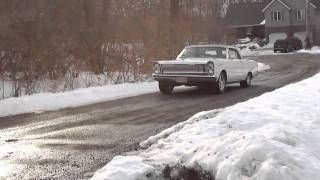 1965 Ford Galaxie Rebuilt 390 motor- first run!
