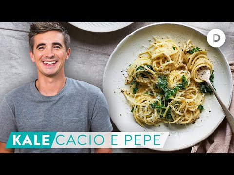 RECIPE: Quick Fix KALE Cacio E Pepe!