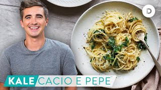 RECIPE: Quick Fix Pasta KALE Cacio E Pepe!