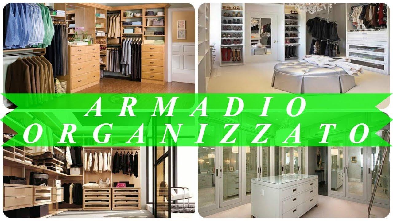 Organizzare Cabina Armadio : Come organizzare una cabina armadio youtube