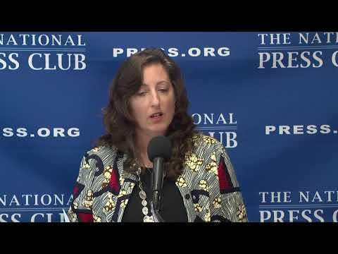 NUHW Opioid Emergency press conference, National Press Club, September 25, 2017