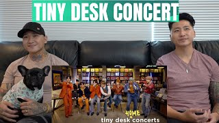 BROTHERS REACT: BTS 'Tiny Desk (Home) Concert'