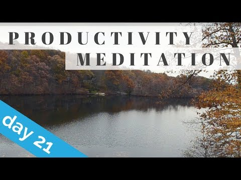 Quick Meditation for Productivity & Energy Boost