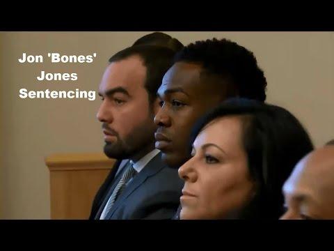 Jon 'Bones' Jones Sentencing 09/29/15