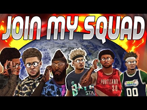 JOIN MY SQUAD!! TRYOUTS FOR THE NEXT BEST CLAN ON 2K?? NBA2K17 MYPARK