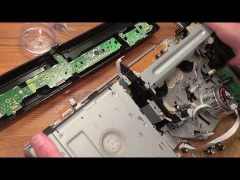Panasonic DMR EZ48V DVD/VHS recorder U80 and U81 faults cured.