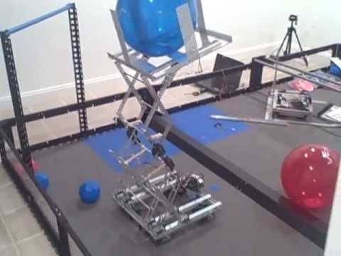 Vex Toss Up Experimenting With Scissor Lift Youtube