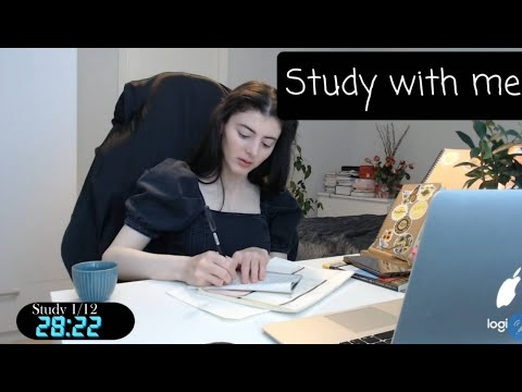Study with me live pomodoro 6  hours