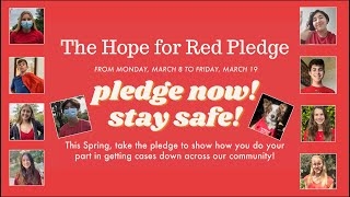 LCJH Hope for Red Pledge Video