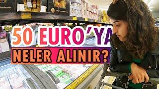 Almanya'da Haftalık Market Alışverişi: 50 Euro'ya Neler Alınır & Almanya Sebze Meyve Fiyatları